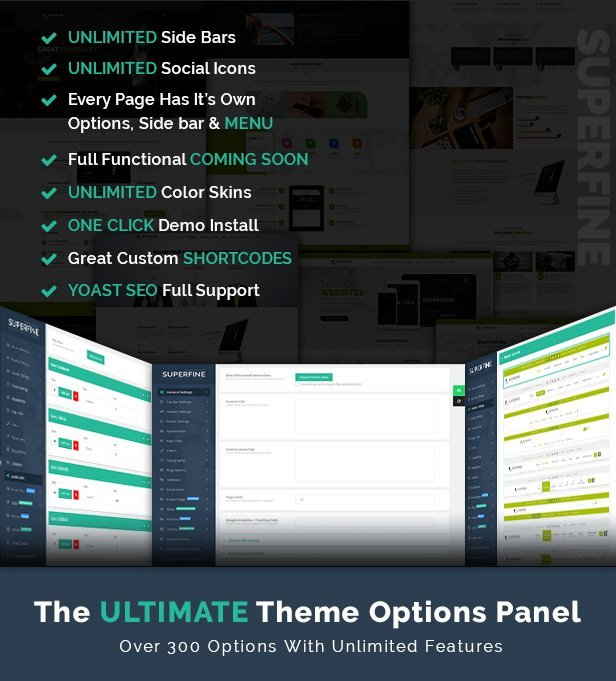 SuperFine - WordPress Theme