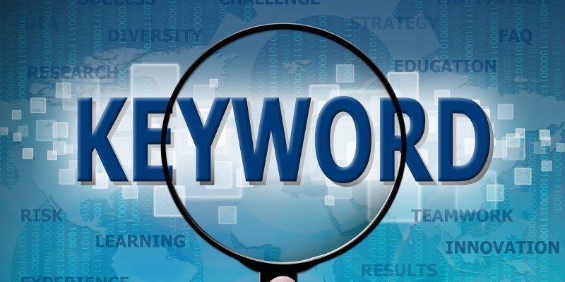keywords for your website