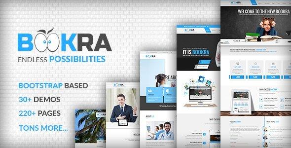 BOOKRA - HTML5 Template